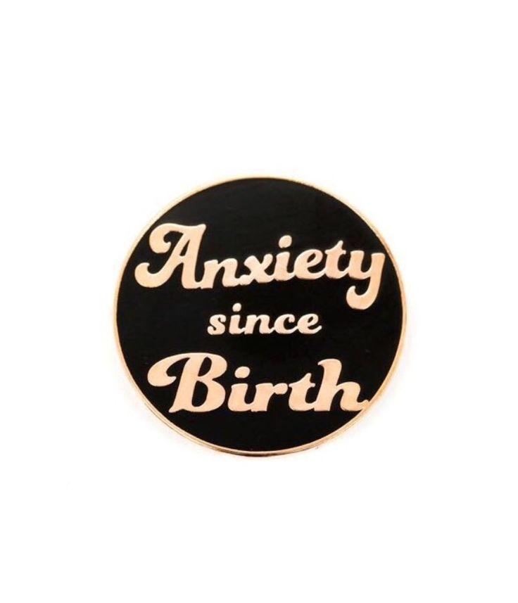 Anxiety pin