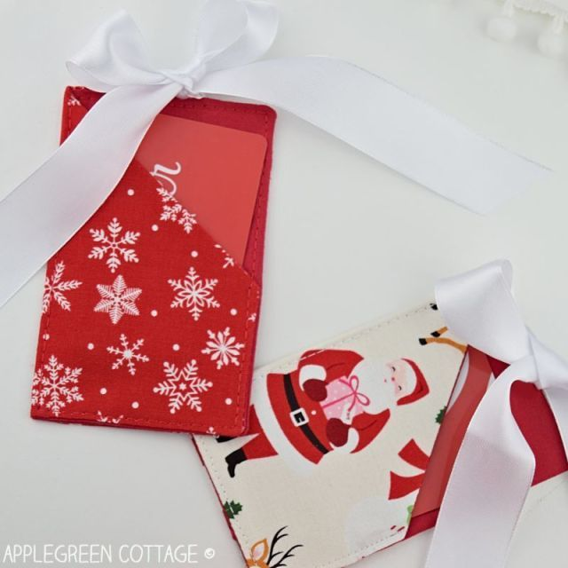 Christmas Gift Card Holder Free Template Applegreen Cottage Christmas Gift Card Holders Diy Christmas Gifts For Coworkers Gift Card Holder