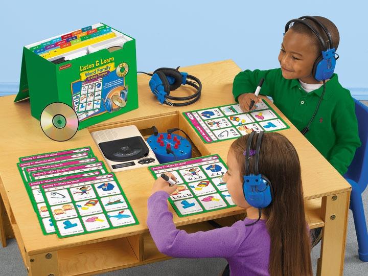 Lakeshore Dream Classroom Programm zum Hören und Lernen von Wortfamilienaktivitäten – Lakeshore Learning