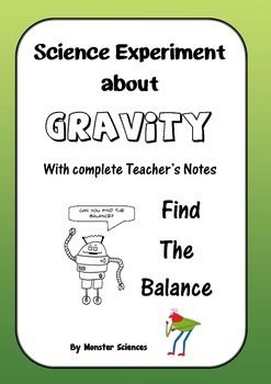 Science Experiment about Gravity - Find the Center