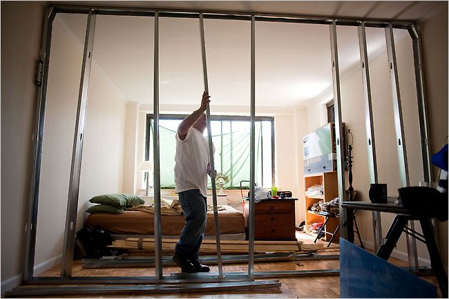 New York is cracking down on illegal room dividers, which means that bedroom carved out of the living room  may have to go.