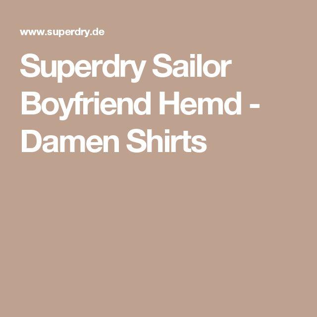 Superdry Sailor Boyfriend Hemd - Damen Shirts
