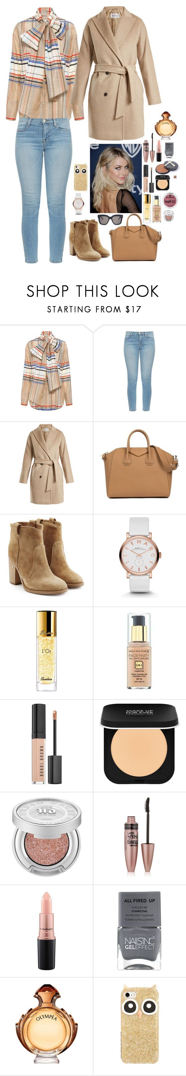 """Untitled #1638"" by azra-99 on Polyvore featuring SUNO New York, J Brand, MaxMara, Givenchy, Laurence Dacade, Marc by Marc Jacobs, Guerlain, Max Factor, Bobbi Brown Cosmetics and MAKE UP FOR EVER"