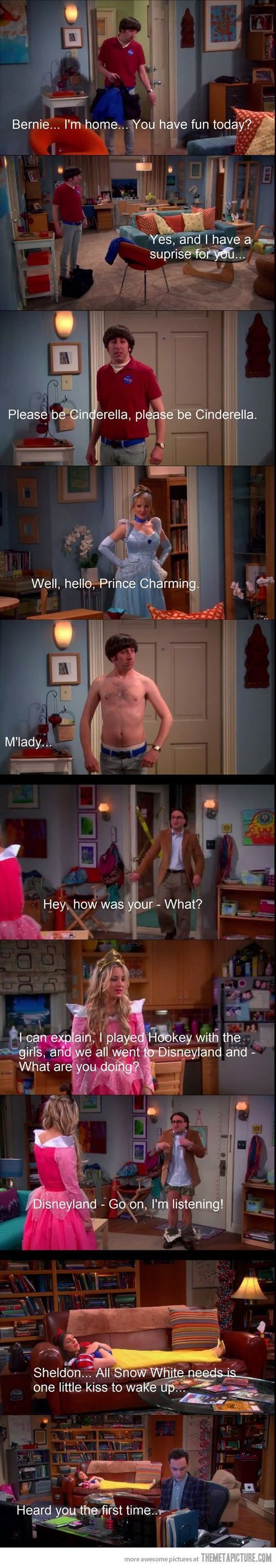 Big Bang Theory crossover