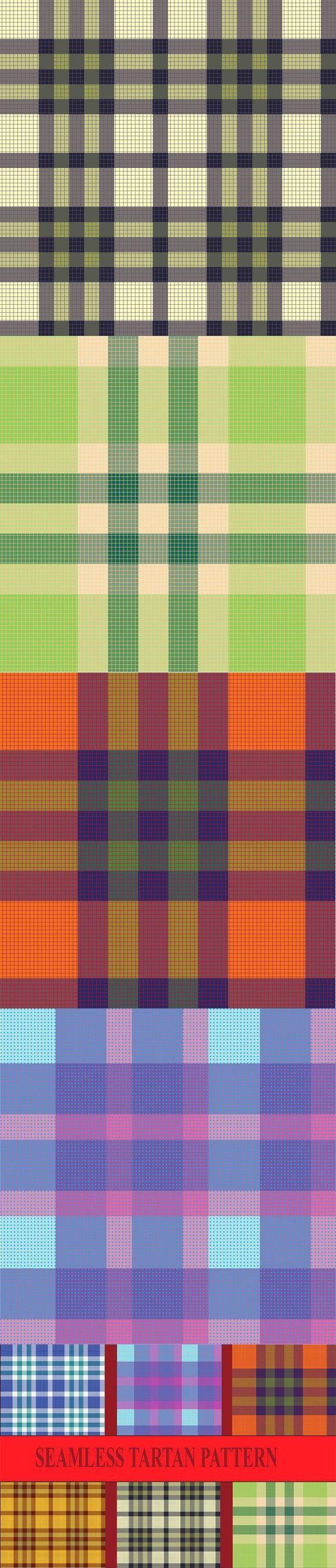 Seamless tartan pattern #tartan #pattern