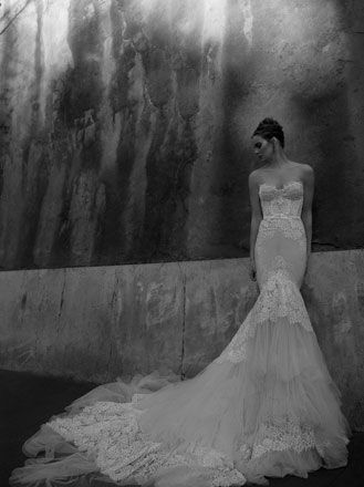 Wedding dresses and bridal wear from Inbal Dror :: Morgan Davies :: Bridal and Wedding Dress Shop London