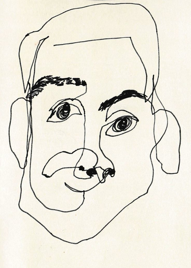 Blind Contour Line Drawing Face : The best blind contour drawing ideas on pinterest