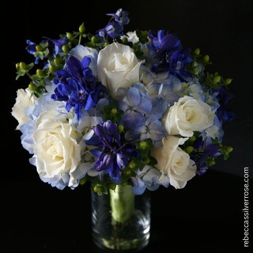 650 best blue wedding flowers images on pinterest bridal blue wedding flowers junglespirit Images