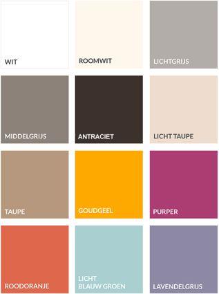 Ga je voor een felle kleur, of houd je het op een subtiele kleur? Misschien combineer je het wel door een vlak in een felle kleur te kiezen. De Nonoo kun je naar jouw smaak ontwerpen.
