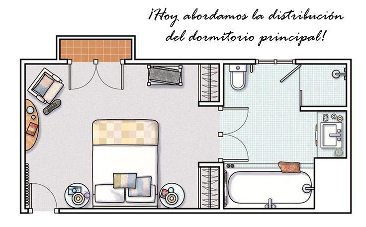 Consejos de inicio a la decoración (II parte): distribución de un dormitorio