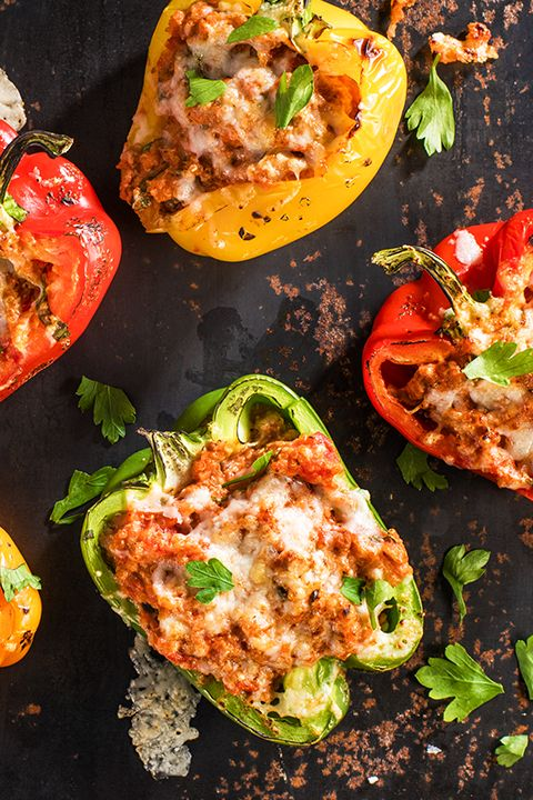 INGREDIENTS BY SAPUTO | Ditch the usual dinner routine this week with this recipe for stuffed peppers with quinoa, tomatoes and ground turkey. With the creamy taste of Woolwich goat cheese, it's the perfect hearty meal idea for winter.