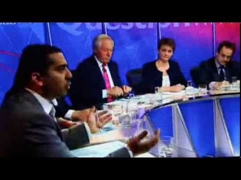 Question Time and Mehdi Hasan puts the boot in the Daily Mail 3 /10 /2013