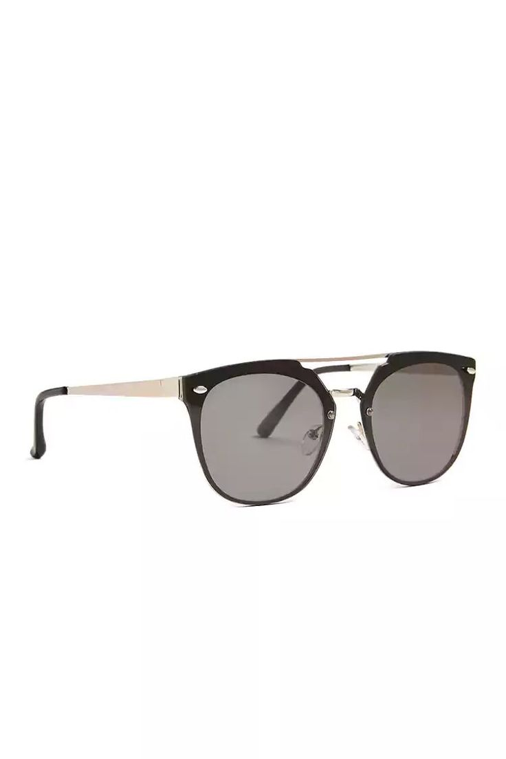 Product Name:Men Metallic Browline Sunglasses, Category:mens-main, Price:7.9