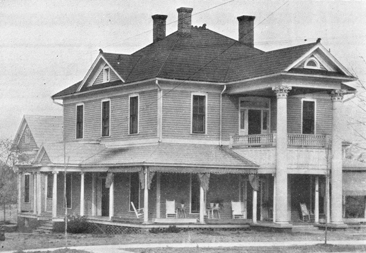 The historic Preston Woodall House is now on the National