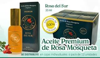 Aceite Organico de Rosa Mosqueta PREMIUM Patagonica Envase de Cristal de 35 ml VERDE IRLANDES