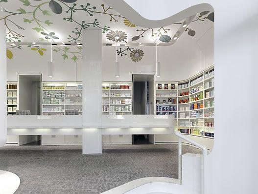 Imagine These: Pharmacy Interior Design | Linden-Apotheke | Ludwigsburg | Germany | Ippolito Fleitz Group