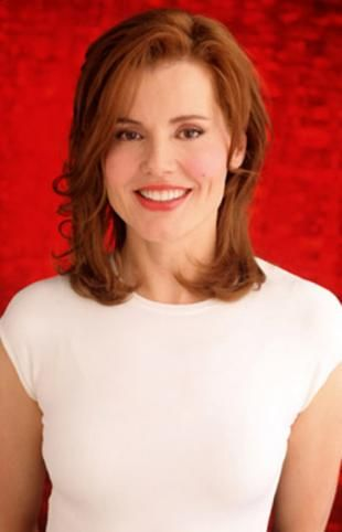 Geena Davis-This is who people used to tell me I look like. I am still not sure.