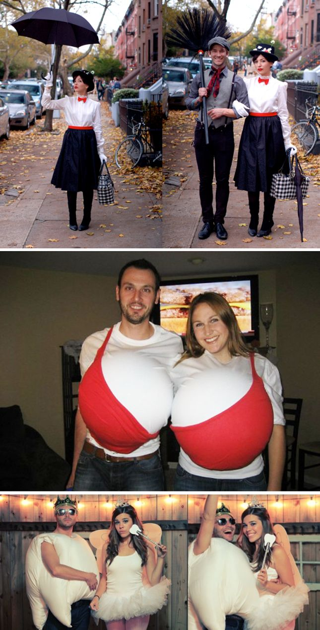 The 25 best couple costumes. Hehe, there are definitely some unique ones here!