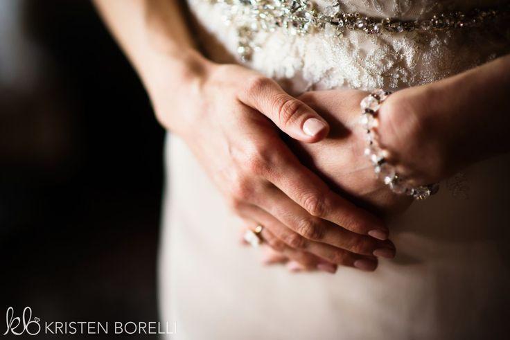 Thetis Island Overbury Resort Wedding  Kate & Steven. Bride's hands.