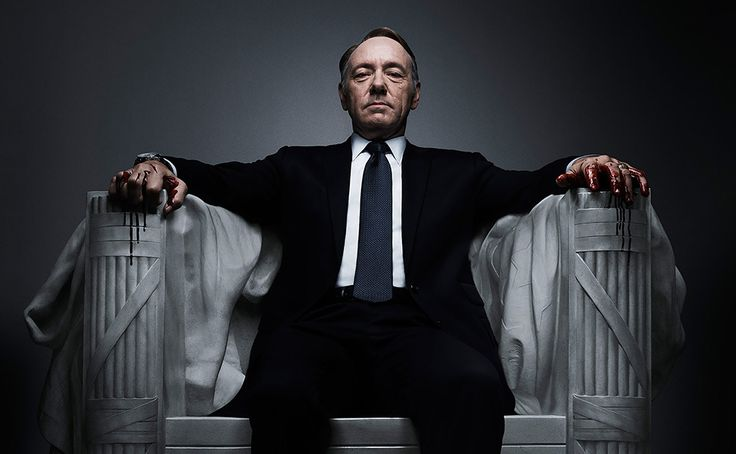 "House of Cards S4 13E starts! 2016-03-04 ; )•• (S1 13E 2013-02-01) • blood memorial • produced by Netflix! • America's most charismatic actor Kevin Spacey (as Francis Underwood) is ingenious (as usual ; ) as is his wife Claire (Robin Wright ; ) • 6 dir., main James Foley • 10 writers, main Kate Barnow • poignantly shows how Washington works! All games & lies...as People do not matter, only getting ahead • ""There are 2 kinds of pain. The sort of pain that makes you strong, or useless pain."""