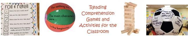 Reading comprehension games that students will want to play over and over