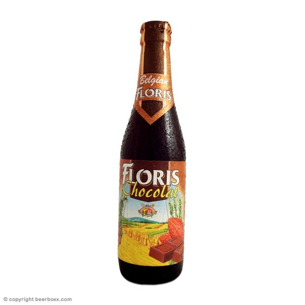 Floris Chocolat 33cl. Belgium chocolate beer!! Actually smells and has a real sumptuous chocolate flavor.