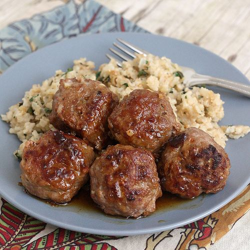 Honey Chipotle Turkey Meatballs - healthy and yummy!... I'm making these tonight for dinner :)- These are very good but just watch the chilies in adobe. I used what the recipe called for an they were too spicy for my toddler.