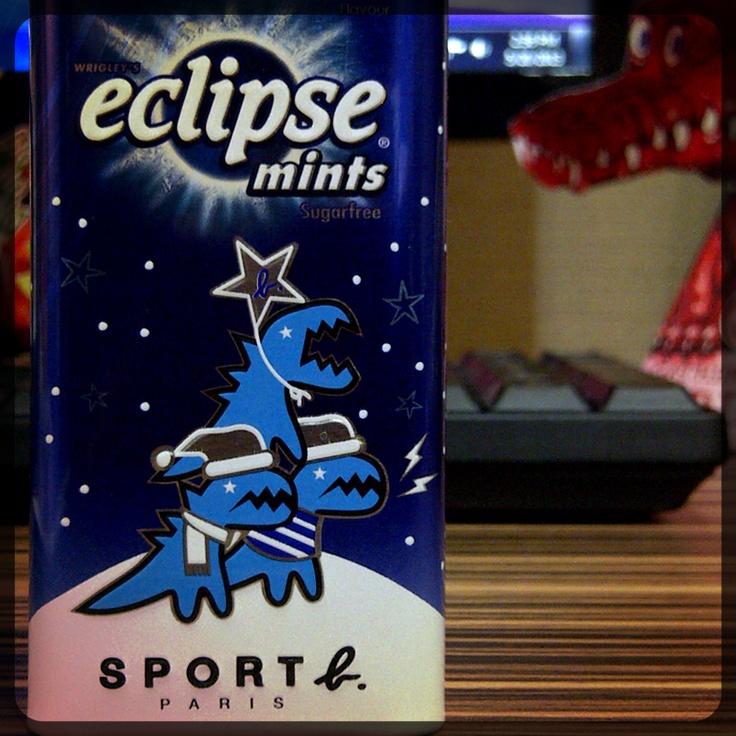 Souvenir ~ Wrigley's Eclipse ~ SPORT B. X eclipse LIMITED EDITION