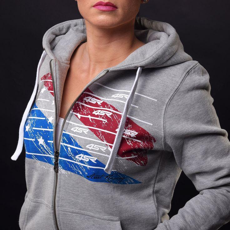 4SR women's hoodie Stars & Stripes