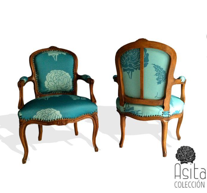 27 best telas estampadas y con mucho color lotti haeger for Sillas tapizadas estampadas