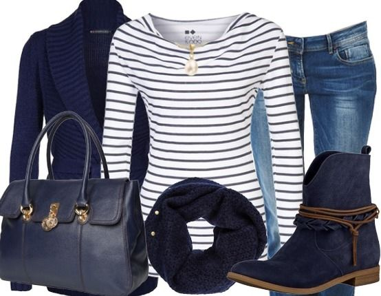 Stripes - Casual Outfit - stylefruits.nl