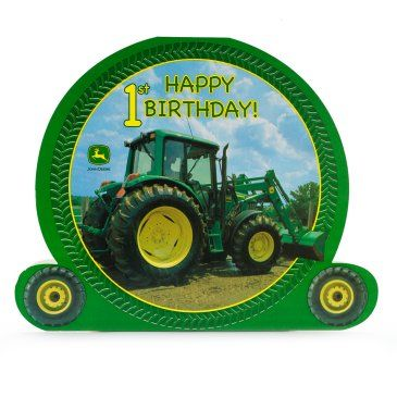 John Deere 1st Birthday: Centerpiece Party Supplies Canada - Open A Party