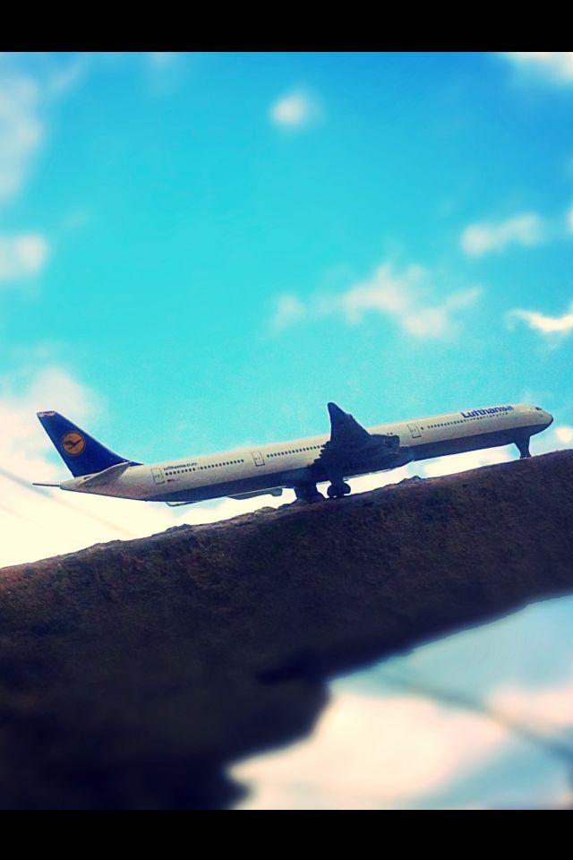 #lufthansa #sirline #toy #amazing #photography #dashing #click #effect