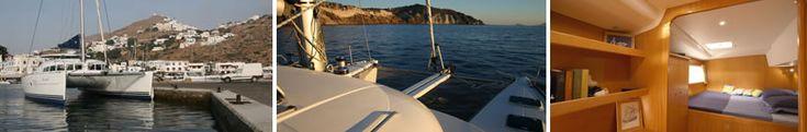 Santorini Sailing Blue Lagoon II 41' Catamaran