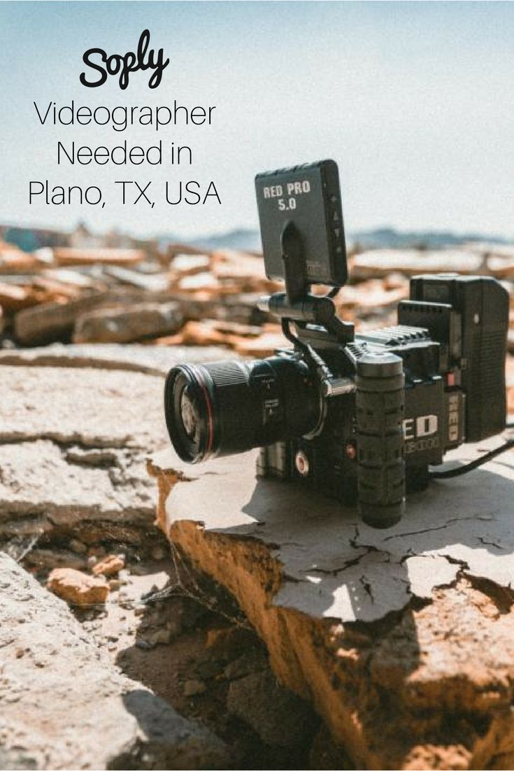 #Videographer needed for a #live recording of a #challenge in #Plano, Texas, USA. See the #videography job and apply by clicking the pin!