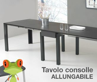 tavolo consolle america allungabile fino a 3 metri