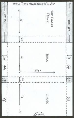 Recipe Card Holder Diagram