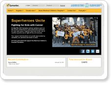 The symantec gives back custom fundraising site was a huge success for us.Our experience was fantastic from our end. Developers were very responsive and worked closely with us to ensure all concerns were addressed so that our brand was properly represented. The site itself was an amazing asset for us as it gave us an opportunity to engage our attendees.Thanks for support! Alex Wong , Montreal, QC, Canada.  symantecgivesback.myevent.com