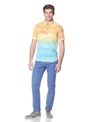 Zanerobe Men's Botanic Short Sleeve Shirt