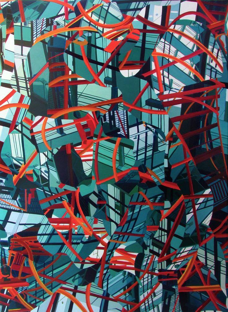 """Museu Alfredo Andersen recebe trabalhos do artista plástico Francis Rodrigues na exposição """"Mistifórios Urbanos"""". As telas ficam à mostra de 30 de agosto a 29 de setembro, e a entrada no museu é gratuita. As pinturas retratam a desordem das cidades, misturando formas, perspectivas e cores vibrantes. Abusam de contrastes em planos, profundidades e cores...<br /><a class=""""more-link""""…"""