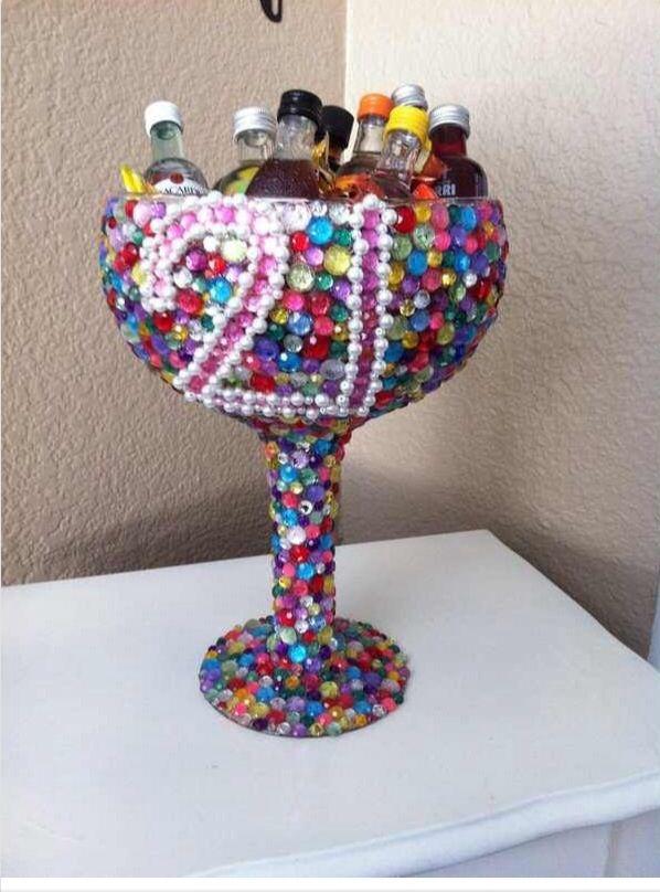 21st birthday margarita cup