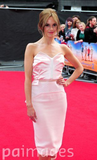 Hannah Tointon attending the premiere of new film The Inbetweeners 2 at the Vue Cinema in London.