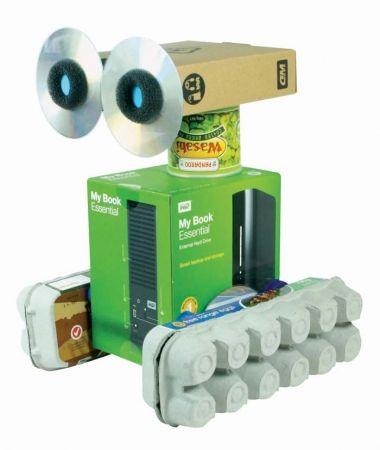 Find & make robot craft kit - hardtofind.