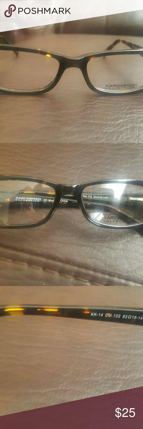 Kardashian Kollection Glasses Brand new non prescription Kardashian Kollection Glasses. Comes with demo lens.   NWOT Kardashian Kollection Accessories Glasses