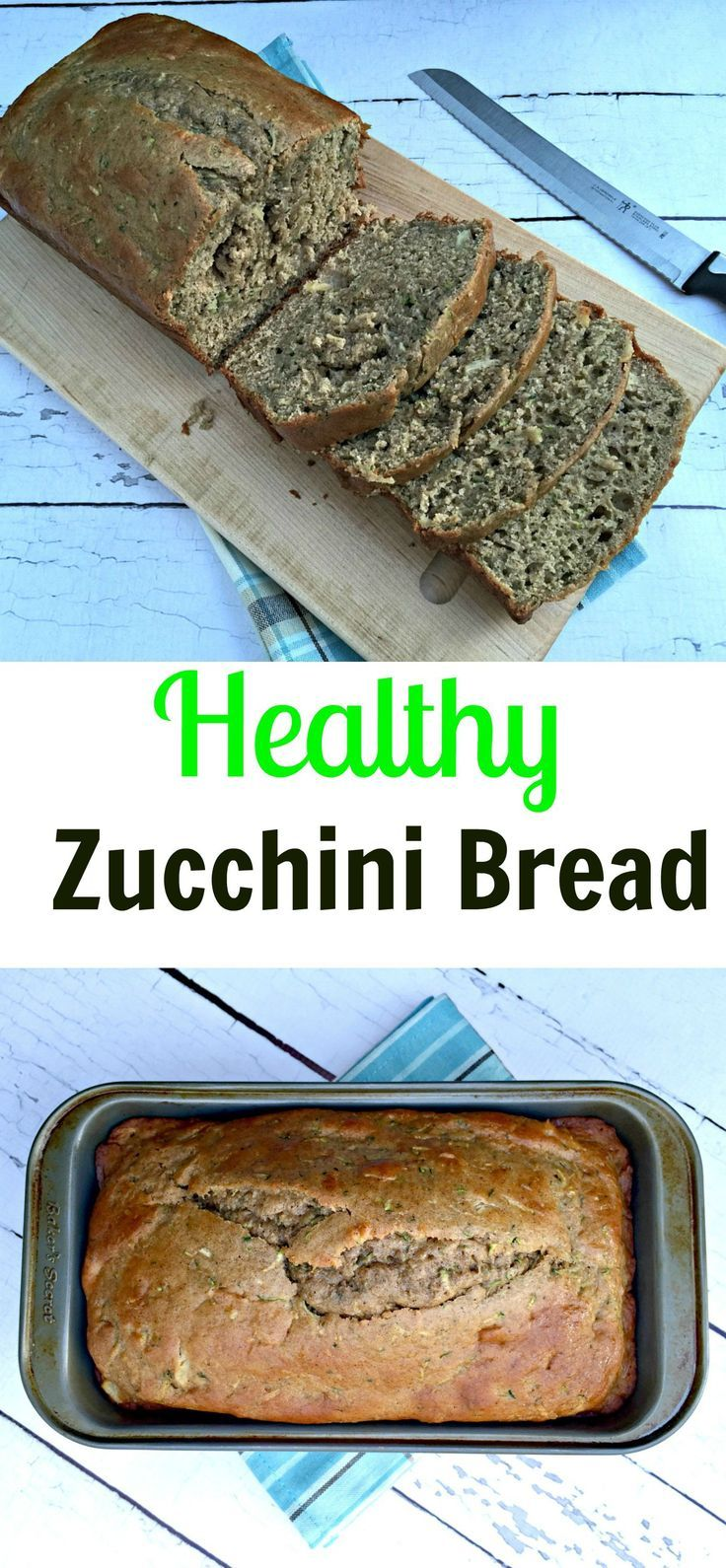 A much healthier version than your typical zucchini bread recipe with pineapple and yogurt for added sweetness! #thereciperedux