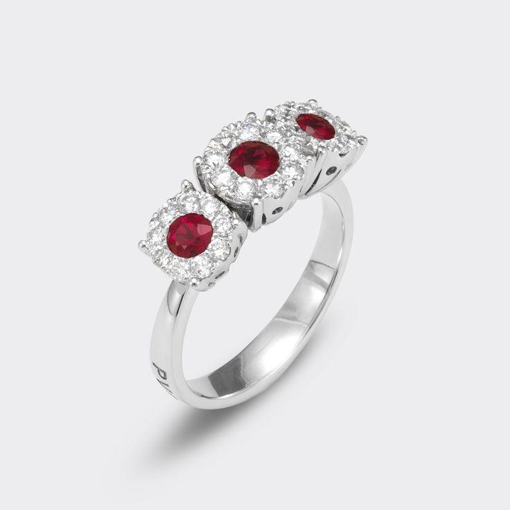 ponte vecchio gioielli Artemide collection #engagemnt #ring #rubyanddiamond #pontevecchiogioielli