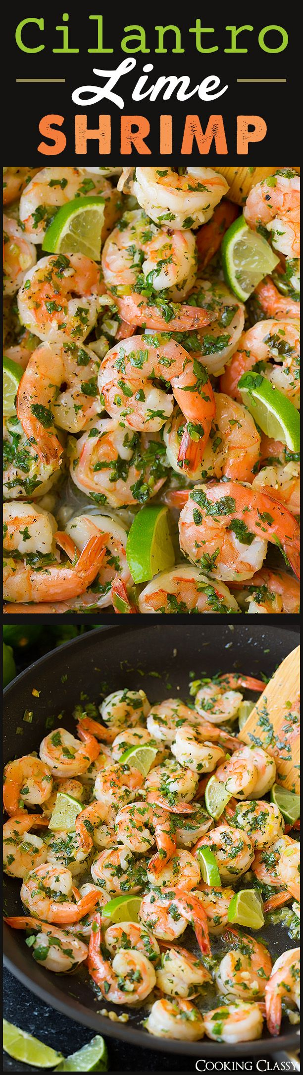 Cilantro Lime Shrimp with Coconut Rice - Loved this! So easy and great combo!