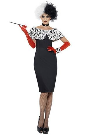 """Cruele Lavillian"" and ""Evil Madame"" aka ""Totally not 101 Dalmations' Cruella de Vil"" 