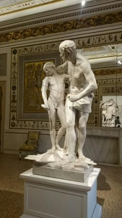 Dedalo e Ícaro de Antonio Canova - Museo Correr Venice (y)