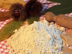 La farina di castagne